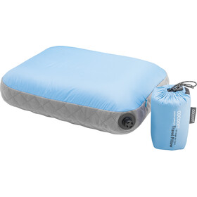 Cocoon Air Core Kussen Ultralight Standaard, light-blue/grey